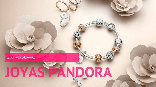 Joyas Pandora versión Glam de la mano de Alvarno.