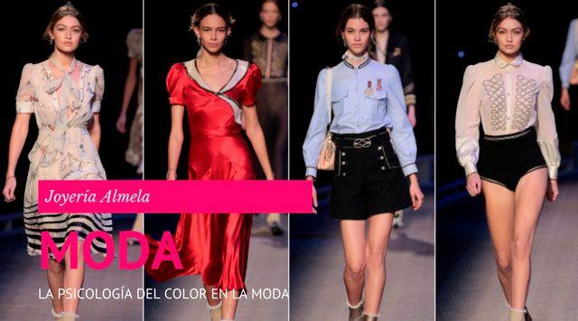 La psicología del color en la ropa.