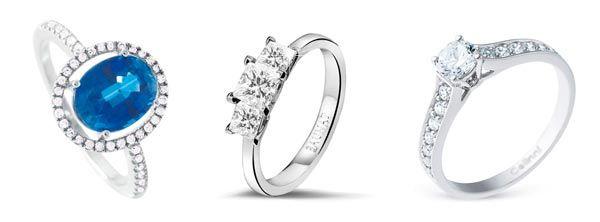anillos de compromiso baratos