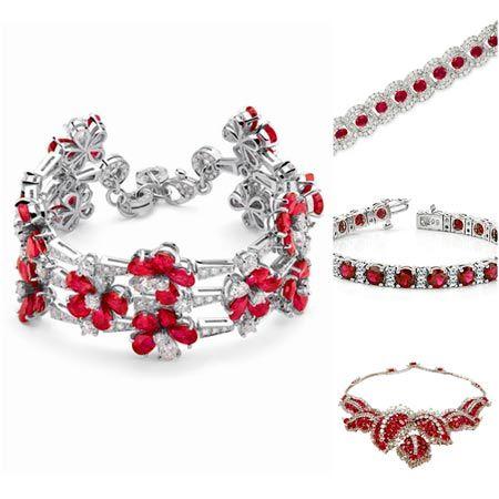 joyas con rubies rojos, joyeria online almela