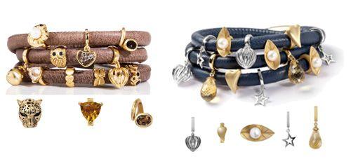 pulseras con abalorios, pulseras con charms, endless jewelry