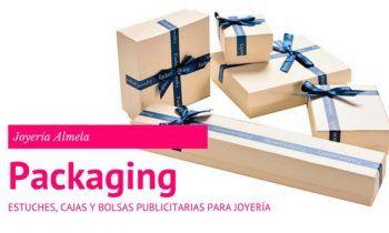 Estuches, Cajas y Bolsas publicitarias para Joyería.
