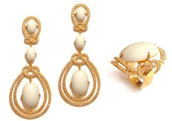 pendientes y anillos de oro carla amorim