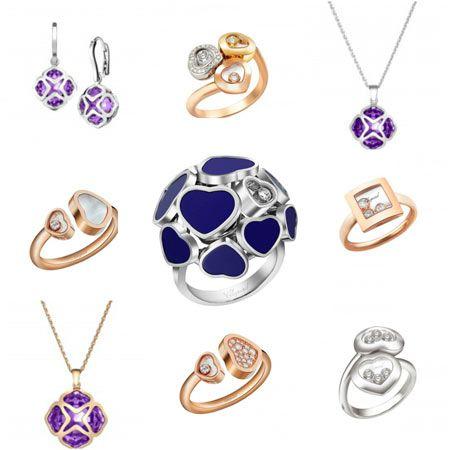 anillos chopard coleccion happy diamonds