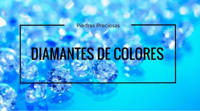 Diamantes de Colores. Explosión de Color!